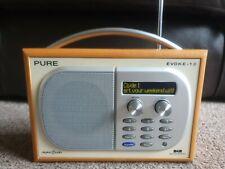 Pure evocan 1S DAB, radio FM condiciones excepcionales Original Cargador de red