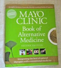 Book of Alternative Medicine Mayo Clinic Hardcover 2nd Edit. Updated & Expanded