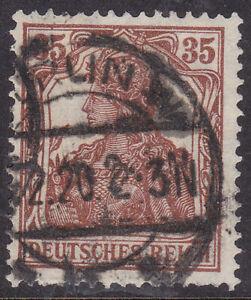 Germany Deutsches Reich 1919 Mi. Nr. 103a 35 Pf. Germania Definitive USED Gepr.