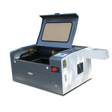 New ! 50W CO2 LASER ENGRAVING&CUTTING MACHINE 300*500mm With Motorized Platform