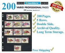 25 LIGHTHOUSE Vario 5s Pages Hobby Stamp Collecting Products