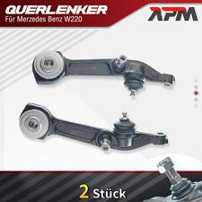 2x Querlenker Lenk Radaufhängung Vorne Unten Links Rechts für Mercedes Benz W220