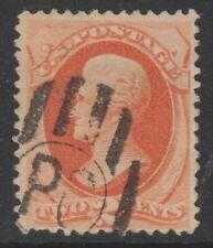 USA - 1875,2c Orange-Vermillion Timbre - Utilisé - Sg 180 A