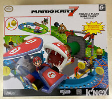 K'Nex Mario Kart 7 Piranha Plant Slide Track 206 Pieces Motorized Karts Rare!