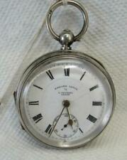 Leeds Pocket Watch* Kwks *Runs* Vintage English Lever By A. Yewdall
