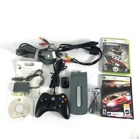 Lot of Xbox 360 Accessories Controllers Hard Drives Cables Wires Games Adapters