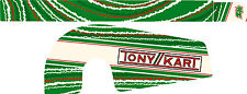 Tonykart EVK Style OTK Chaîne Garde Autocollant Kit-Karting-jakedesigns