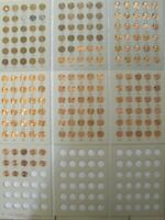 Complete set 1941-2019 PDS Lincoln Wheat & Memorial Pennies Set G-BU 188 coins