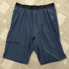 Nike Dry Mens Over-The-Knee 2.0 Training Shorts Blue Size 4XL AH9600-471