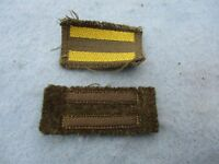 WWII US Air Corp Officer Insignia Lot Overseas Service German Made Army WW2