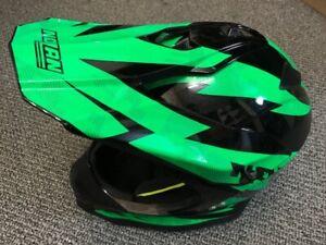 70% OFF L Nolan N53 Comp Kawasaki Green Off-Road Motocross MX Motorbike Helmet