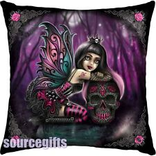NEW * LOLITA * LITTLE SHADOWS GOTHIC FAIRY CUSHION FROM NEMESIS NOW FREE POST