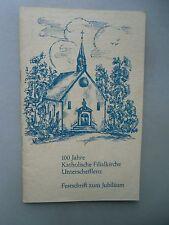 100 Jahre Katholische Filialkirche Unterschefflenz Festschrift zum Jubiläum 1963