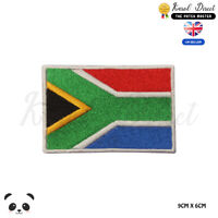 SOUTH AFRICA National Flag Embroidered Iron On Sew On PatchBadge For Clothe etc