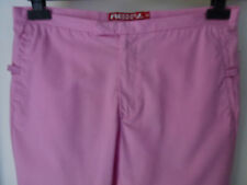 Roxy Life (Quiksilver) ladies 3/4 length trousers in pink size10 unusual stylish