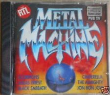 "CD TRES RARE ""METAL MACHINE"", SCORPIONS, BON JOVI,  ETC 14 TITRES, TRES BON ETAT"