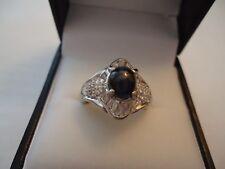 Estate Platinum & Diamond & NATURAL Cat's Eye ALEXANDRITE Ring GIA Certificate
