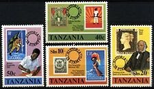 Tanzania 1980 SG#283-286 Sir Rowland Hill MNH Set #D73500