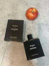 Bleu De Chanel Paris Eau De Parfum Pour Homme 100ml 3,4Oz New with box free ship