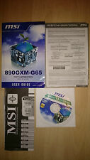 MSI 890gxm-g65, ms-7642, User guide, manuel avec pilote CD