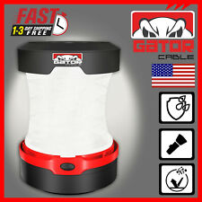 Portable Camping Hurricane LED Collapsible Lantern Light Lamp Bright 1000 Lumens