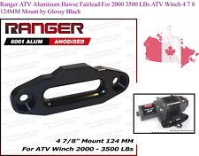Ranger ATV Aluminum Hawse Fairlead For 2000 3500 LBs ATV Winch 4 7 8 124MM Mo...