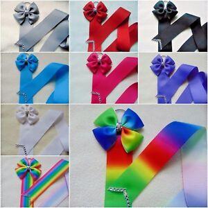 Kids Girl Hair Bow Grosgrain Ribbon Baby Hair Clip Holder Storage Organizer Gift