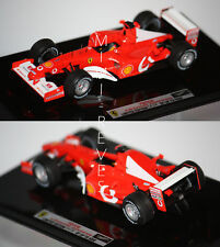 Hotwheels Elite F1 Ferrari F2002 M. Schumacher World Champ. 2002 1/43 X5513