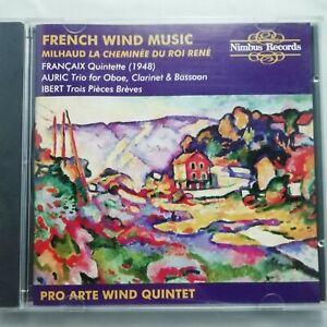 French Wind Music / Pro Arte Wind Quintet / Nimbus CD NI 5327