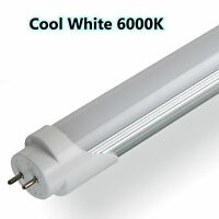 LED T8 Tube Light 2ft 4ft 5ft Retrofit Fluorescent Replacemement Cool White 6000