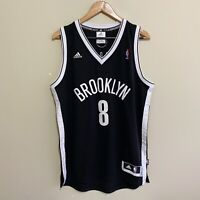 Brooklyn Nets Deron Williams #8 Adidas NBA Basketball Jersey Mens Medium
