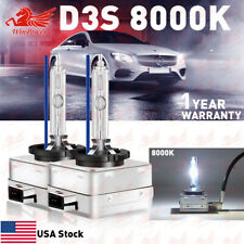 2PCS  D3S D3R 8000K 42403 42302 66340 66340HBI HID XENON HEADLIGHT BULBS SET OEM