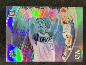 2020-21 panini Donruss Optic basketball Steve Nash Raining 3's Silver Prizm 🔥📈