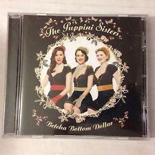 CD THE PUPPINI SISTERS BETCHA BOTTOM DOLLAR