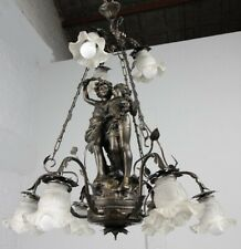 Antique Vintage Rococo Dining Bed Room Chandelier  Ceiling Pendant Light Italy