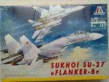 "Italeri 187 Sukhoi Su-27 ""Flanker-B"" 1:72 Neu & versiegelt / Kombiversand mögl."