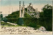 1903 Isola Bella Lago Maggiore Terrazza Giardino Stresa Ghiffa PERFIN FP COL VG