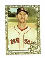 2019 Topps Allen & Ginter Gold #99 Chris Sale Boston Red Sox