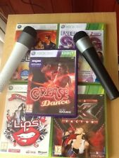 Lips No.1 Hits Everyone Sing X Factor Grease Dance Xbox 360   Mics Game party