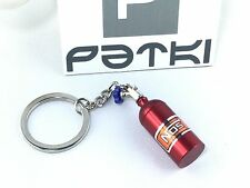 #25 NOS Lachgas Flasche als Schlüsselanhänger in rot - Auto - Tuning