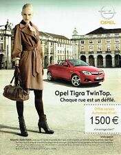 Publicité Advertising 077  2006  Opel Tigra Twin Top