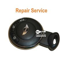 para MINI COOPER de 3 BOTONES SMART Mando a distancia Reparación Reacondicionado