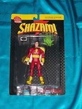 "SHAZAM! The Original CAPTAIN MARVEL With EVIL MR. MIND! 6"" Poseable Act Figure!"