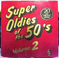FUNK ROCK SOUL COMP super oldies of the 50's vol. 2 LP VG+ SOS-5002 Vinyl 1984