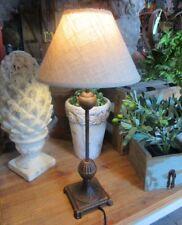 Maison de Campagne Lampe Table Style Métal 46cm Haut Neuf Large