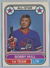 1975-76 OPC BOBBY HULL WHA #65 WINNIPEG Jets 77 Goals! EX+