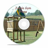 HOW TO BUILD A BACKYARD PLAYGROUND FORT SWINGSET, CAD DESIGNED ACCURATE CD