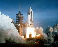 New 8x10 NASA Photo: Space Shuttle COLUMBIA First Launch, Mission STS-1