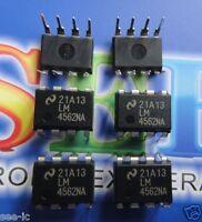 5pcs ORIGINAL LM4562NA Audio Op Amp IC DIP Chipset