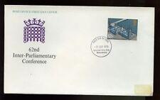 GB FDC 1975 interparlamentare CONF. Warwickshire IED